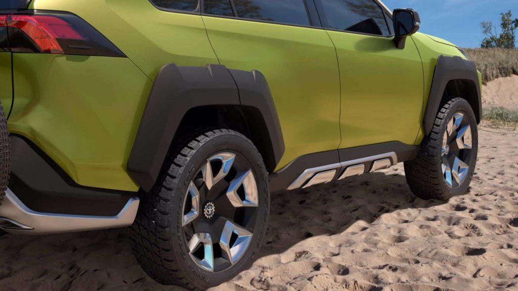 新型RAV4フルモデルチェンジ画像