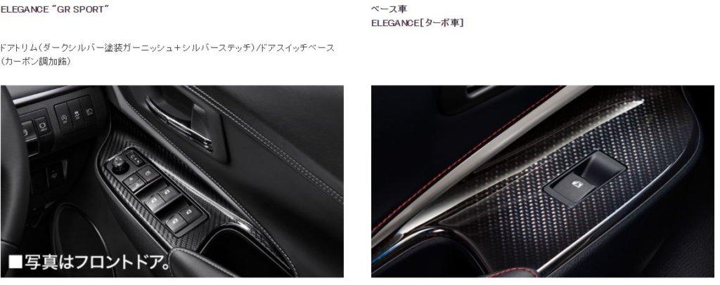 新型ハリアーGRスポーツ内装画像