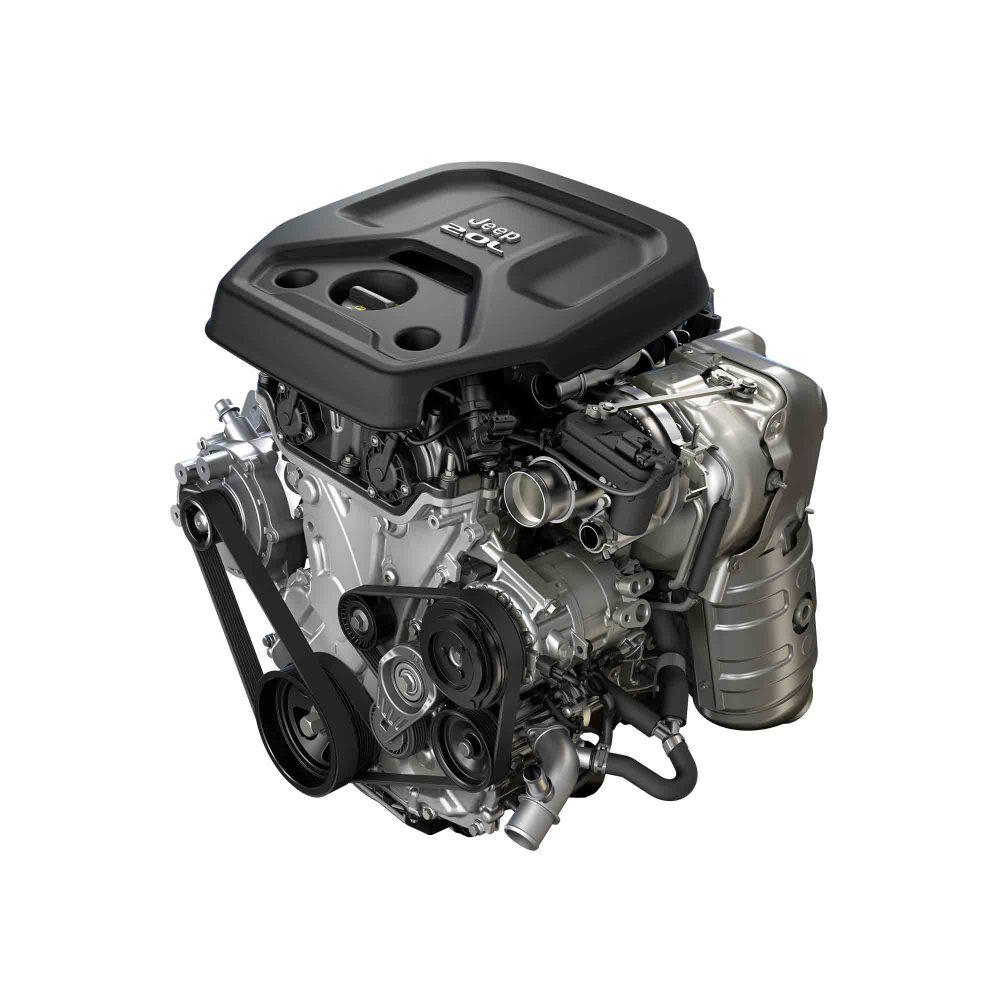 新型JEEPラングラー2.0Lエンジン