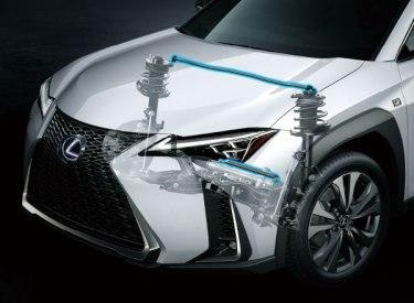 新型レクサスUXハイブリッドの燃費は27.0km/L!実燃費も悪いはずないよね。走行性能も上質な乗り心地を追求されつくされています!
