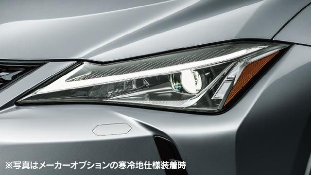 新型レクサスUXヘッドライト画像