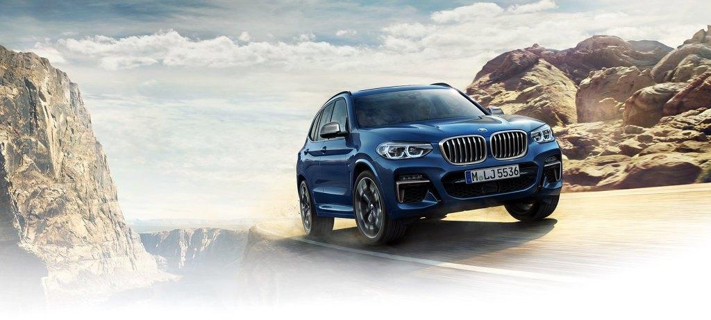 新型BMWX3画像