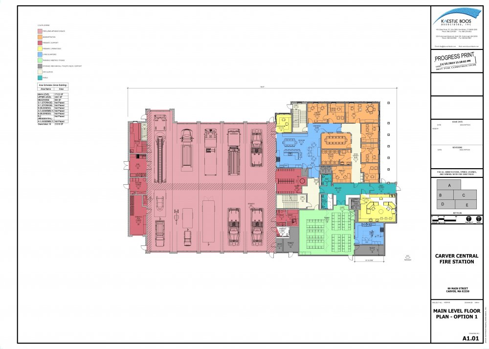 Fire Station Floor Plans Interior And Exterior