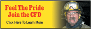 Feel the Pride. Join the CFD.