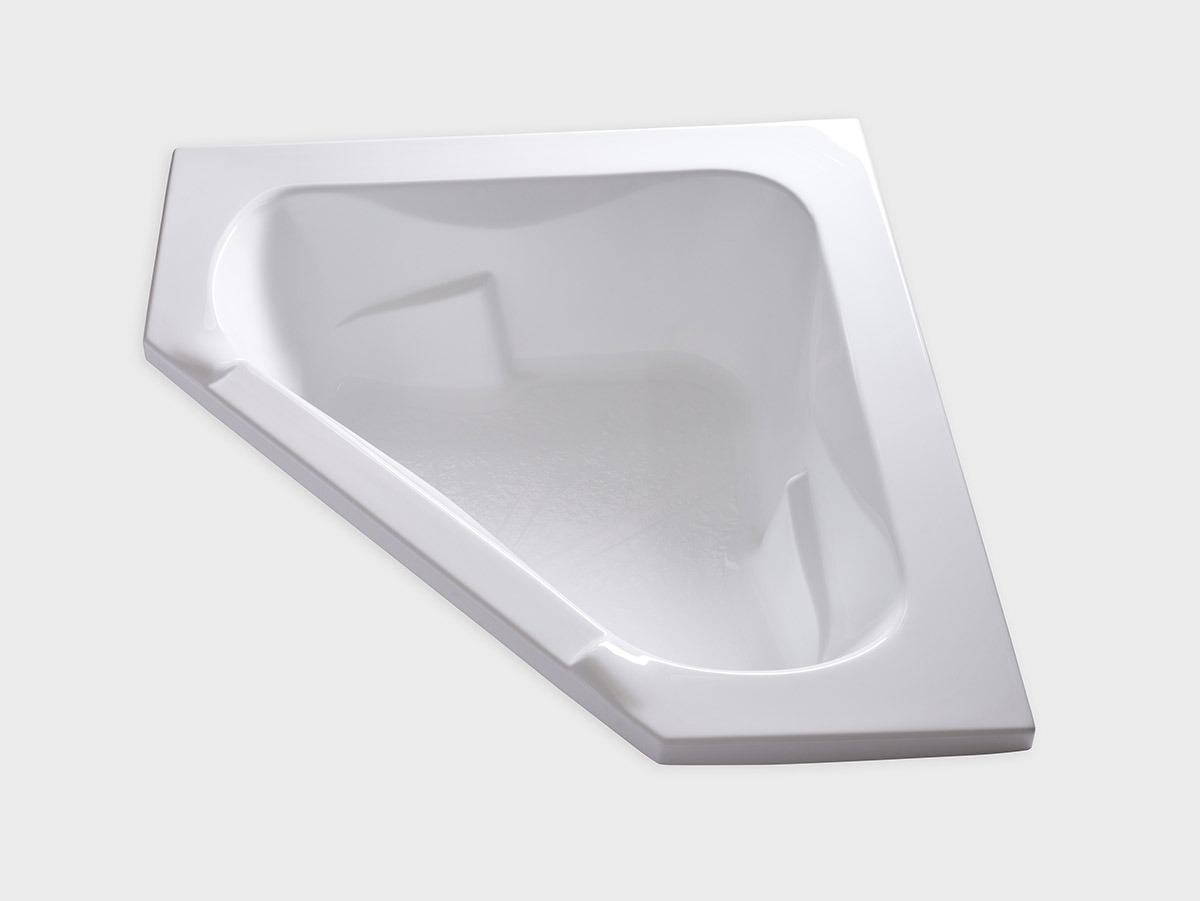 CT6060 60 X 60 Corner Drop In Soaking Bathtub Carver