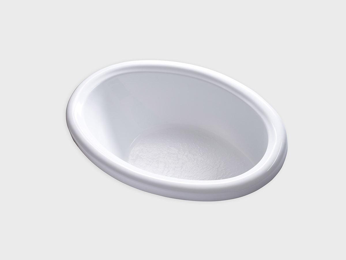DJO5839 58 X 39 Oval Drop In Soaking Bathtub Carver Tubs