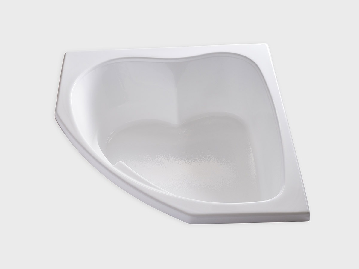 SKC5555 55 X 55 Corner Drop In Soaking Bathtub