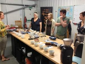 Understanding how to cup coffee