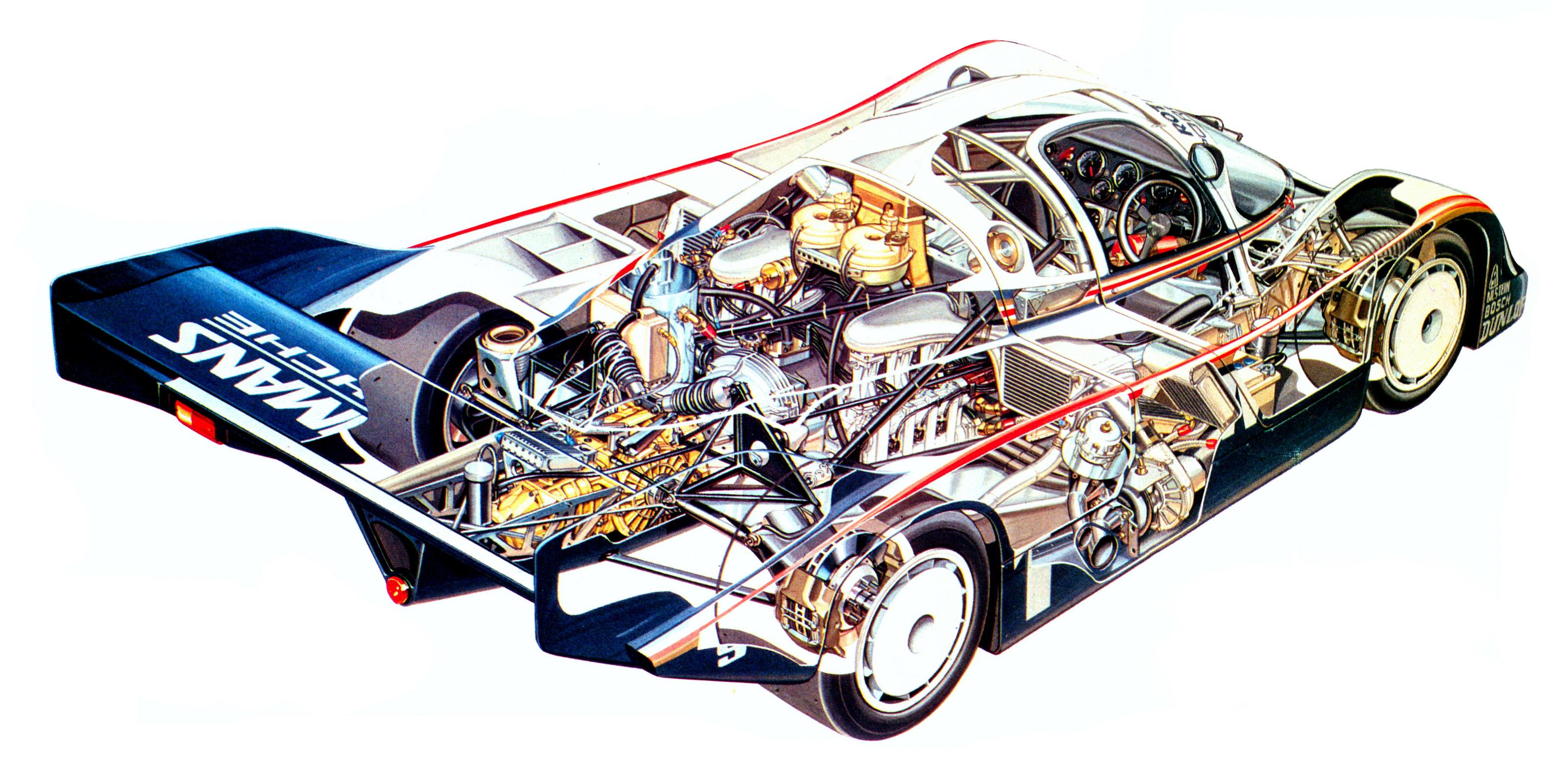 Porsche 956 Engine Diagram. Porsche. Auto Wiring Diagram