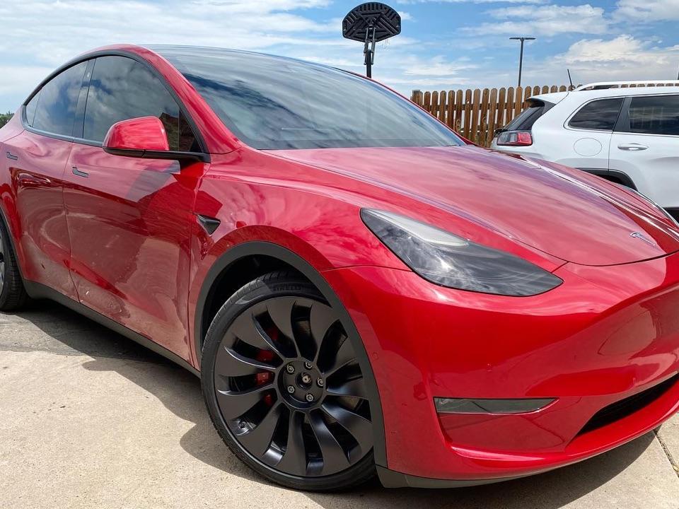 Tesla window tint