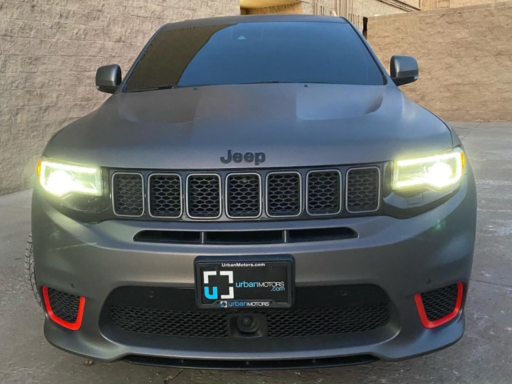 Jeep Trackhawk window tinting