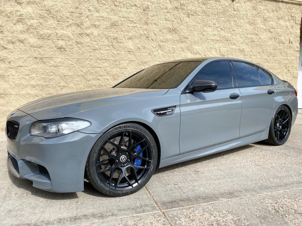 BMW M5 window tinting, BMW 5-Series window tinting