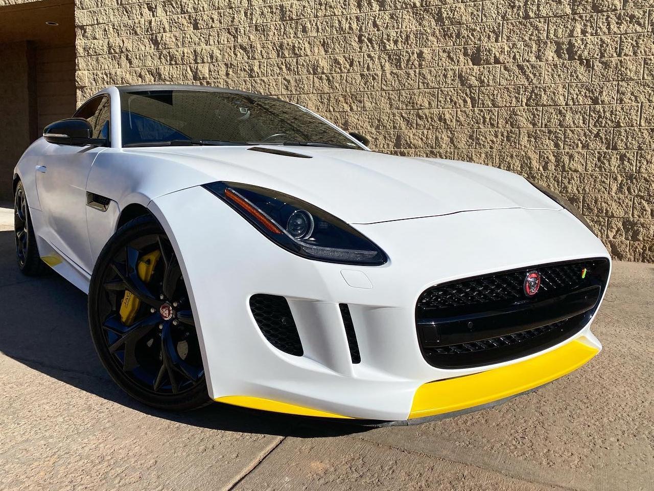 Jaguar F-TYPE window tinting front view
