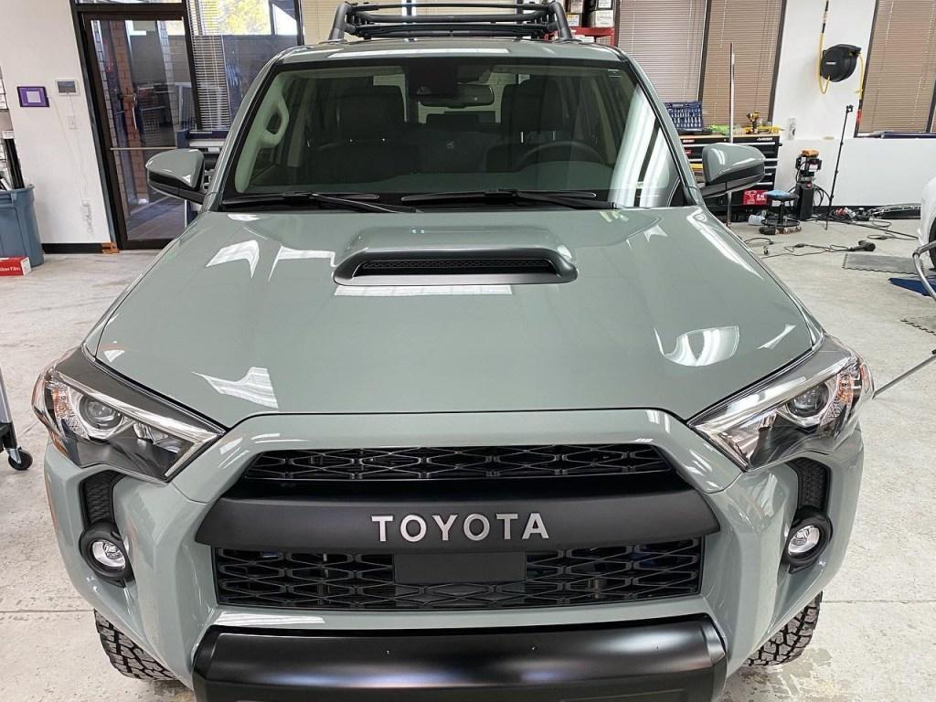 Toyota 4Runner window tinting