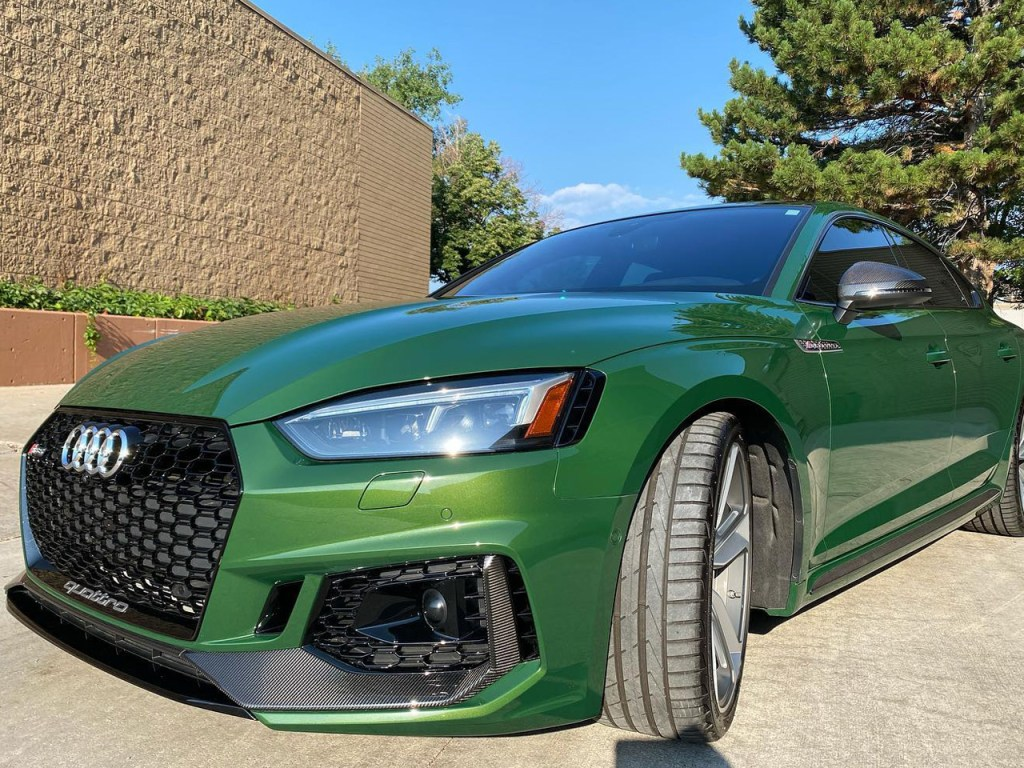 Audi RS5 ceramic window tint