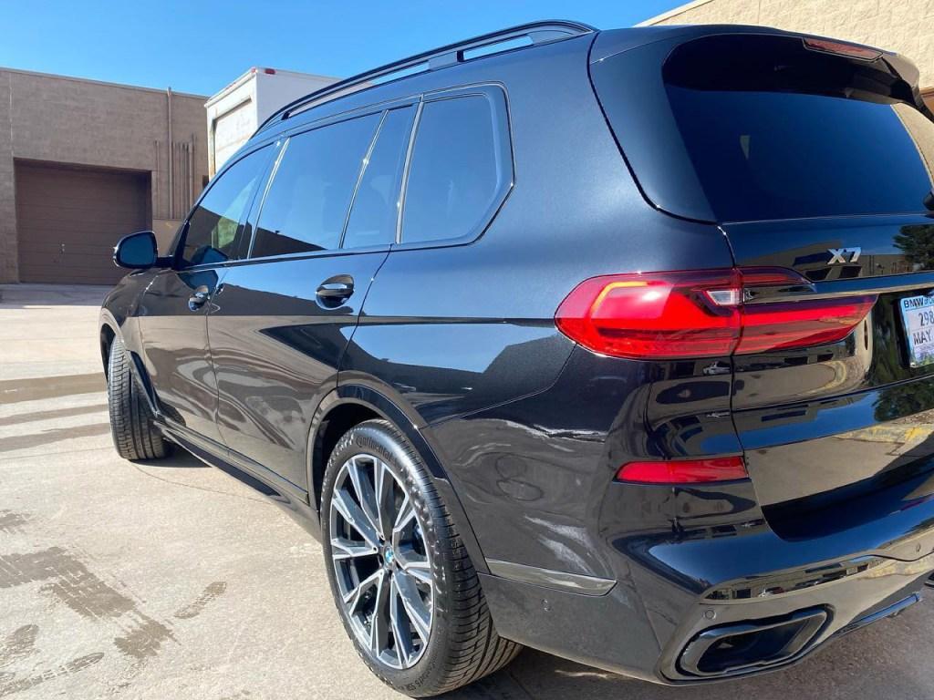 BMW X7 M50i window tinting