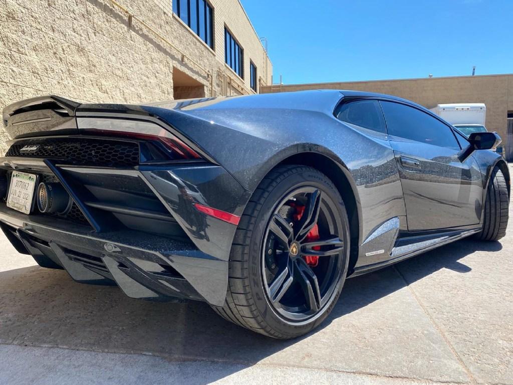 Lamborghini Huracan Evo ceramic plus window tint