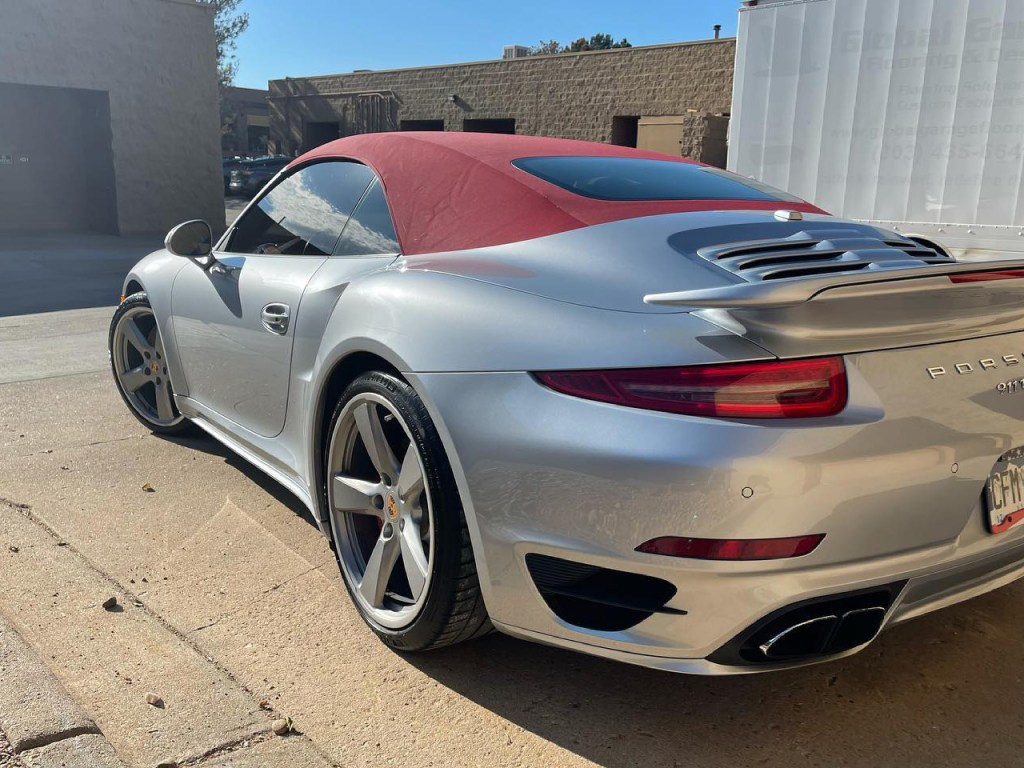 Porsche 911 Turbo window tint