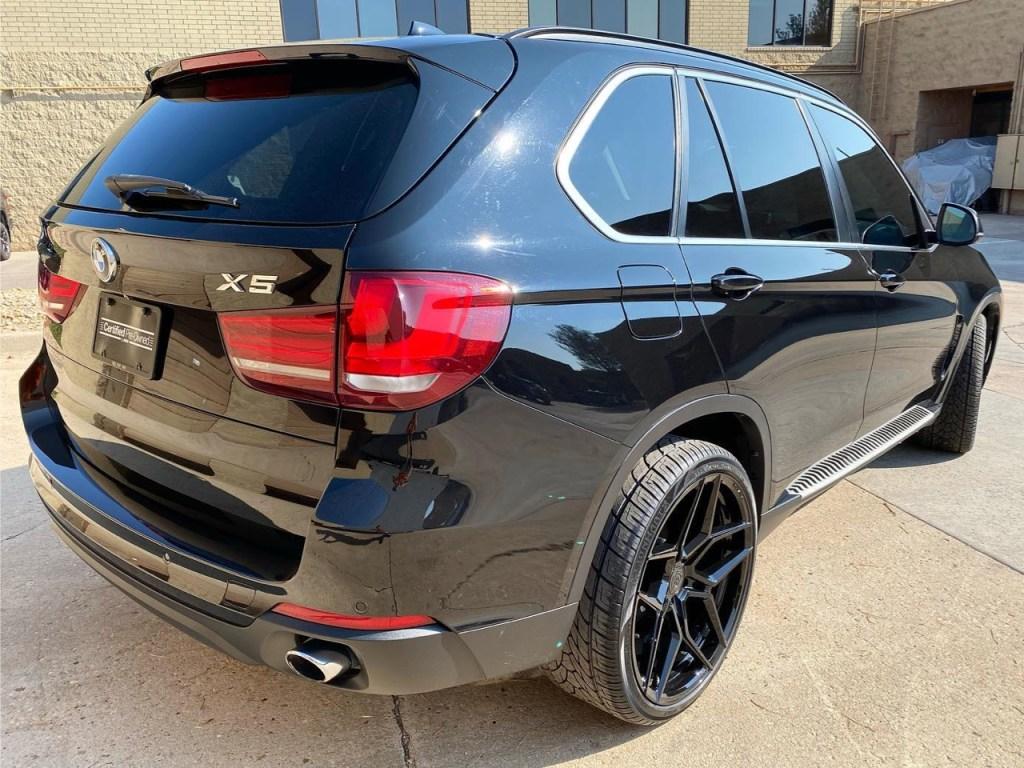 BMW X5 window tint