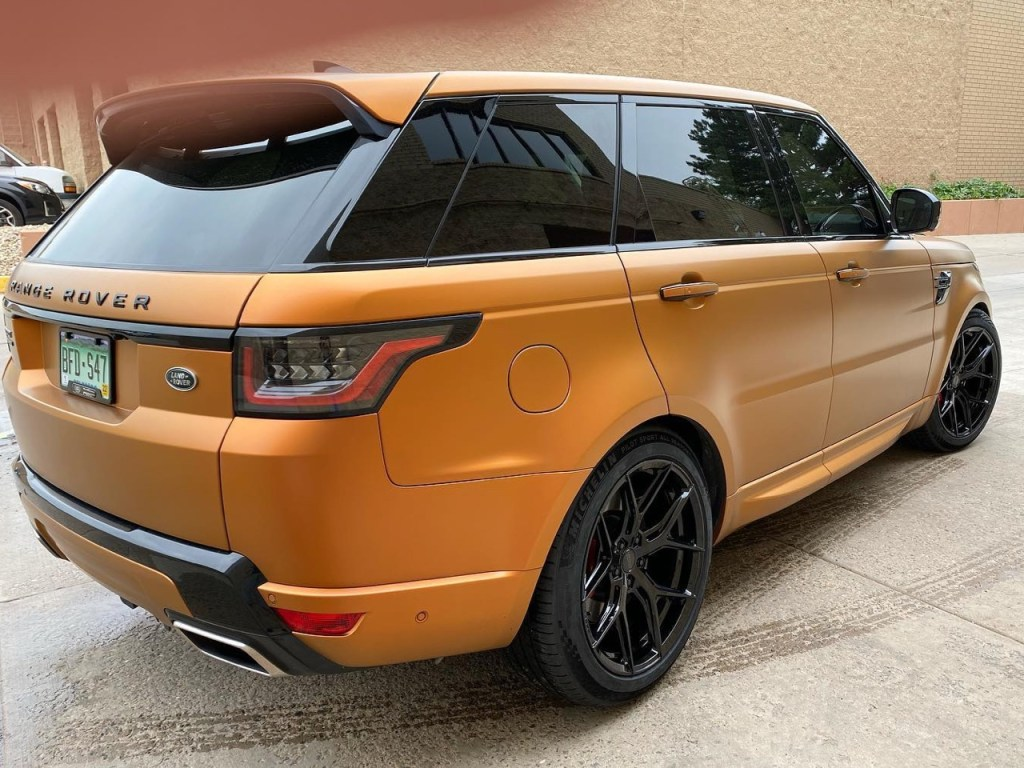 Range Rover Sport window tint