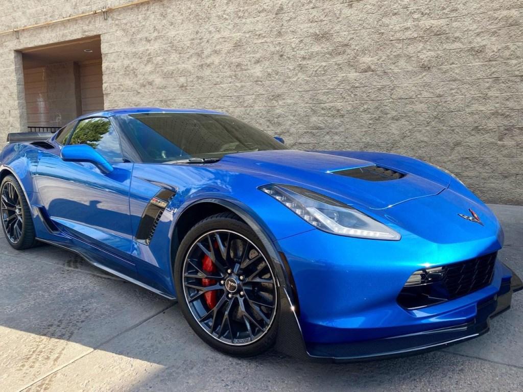 Z06 Corvette window tinting