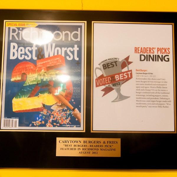 Richmond Magazine 2012