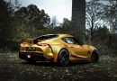 Manhart Gives The Toyota Supra GR 550 542Hp With Golden Sporty Wrap