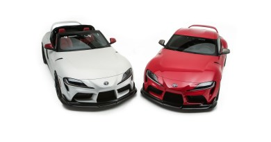 Toyota Reveals GR Supra Sport Targa And TRD-Sport Trailer Concepts