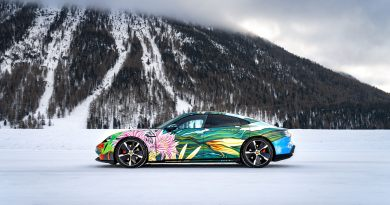 Porsche Taycan 4S Art Car Will Be Auctioned Next Month