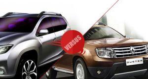 Comparison of Nissan Terrano vs Renault Duster