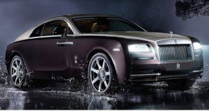 News on launch of Rolls Royce Wraith Coupe