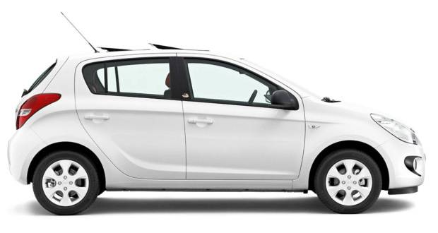 Hyundai i20 Exteriors Side View