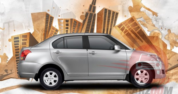 Maruti Suzuki Swift DZire Exteriors Side View