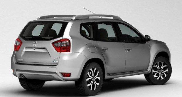 Nissan Terrano Exteriors Side View