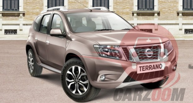 Nissan Terrano Exteriors Top View