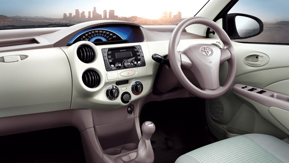 Toyota Etios Xclusive Interiors Dashboard