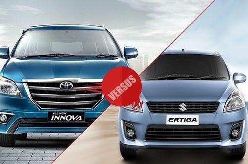 Toyota Innova (new) facelift 2013 vs Maruti Suzuki Ertiga