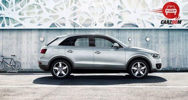 Audi Q3 Exteriors Side View