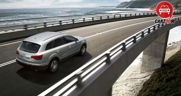 Audi Q7 Exteriors Top View