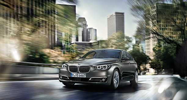 BMW 5 Series GT Exteriors Front View
