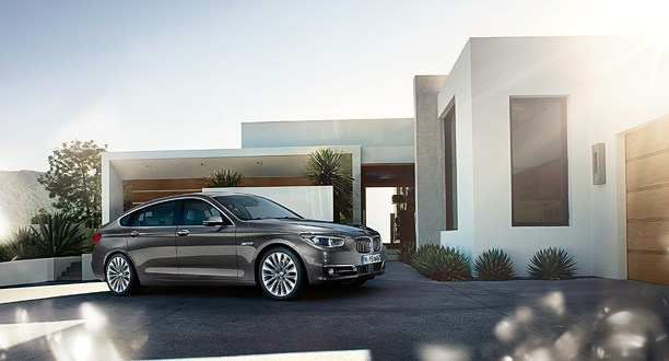 BMW 5 Series GT Exteriors Side View