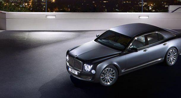 Bentley Mulsanne Exteriors Top View
