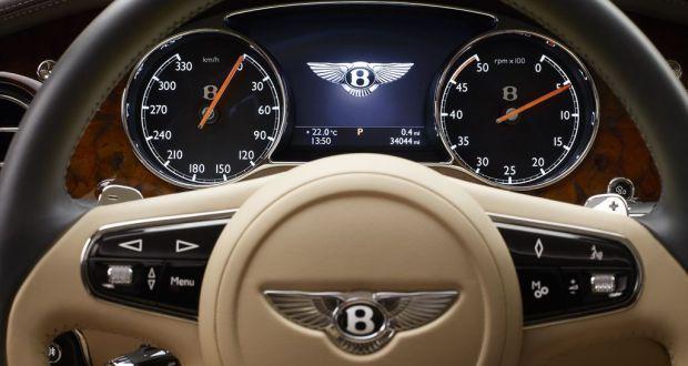 Bentley Mulsanne Interiors Dashboard
