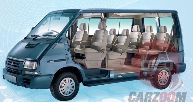 Tata Winger Interiors Seats