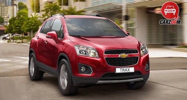Auto Expo 2014 Chevrolet Trax Exteriors Front View