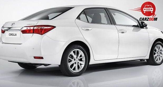 Auto Expo 2014 New Toyota Corolla Exteriors Side View