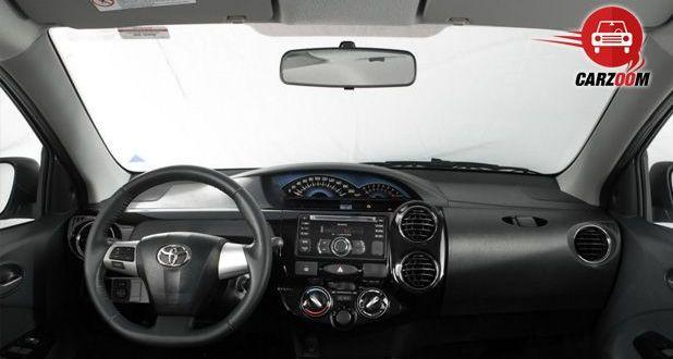 Auto Expo 2014 Toyota Etios Cross Interiors Dashboard