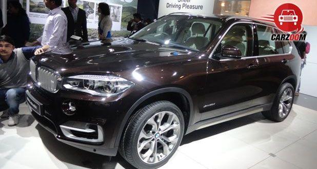 Auto Expo 2014 BMW X5 Next-generation Exteriors Overall