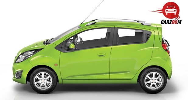 Chevrolet Beat Exteriors Side View