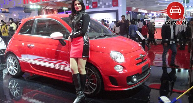 Auto Expo 2014 Fiat Punto Abarth Exteriors Overall